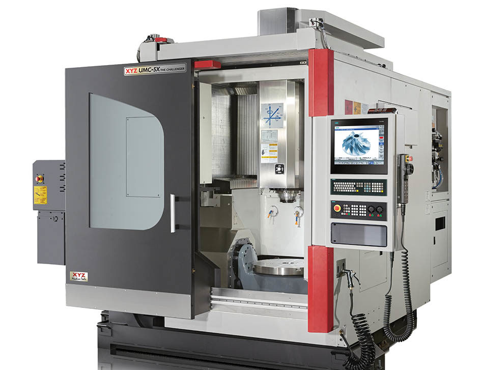 New XYZ UMC-5x 5-axis machining centre | Technical Composite