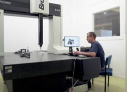 CAD/CAM design engineer at work